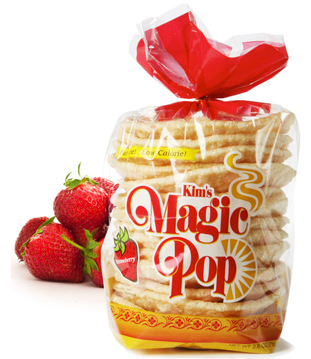 Kim's Magic Pop Strawberry Flavor