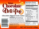 Kim's Chocolate Deli Pop - DIPPED - 6 cases