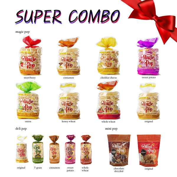 Kim's Pop Super Combo - 16 Packs