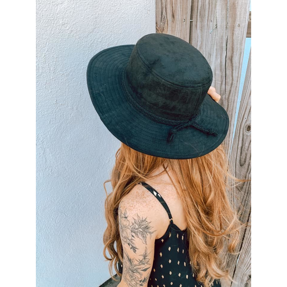 Lovely Lady Suede Hat
