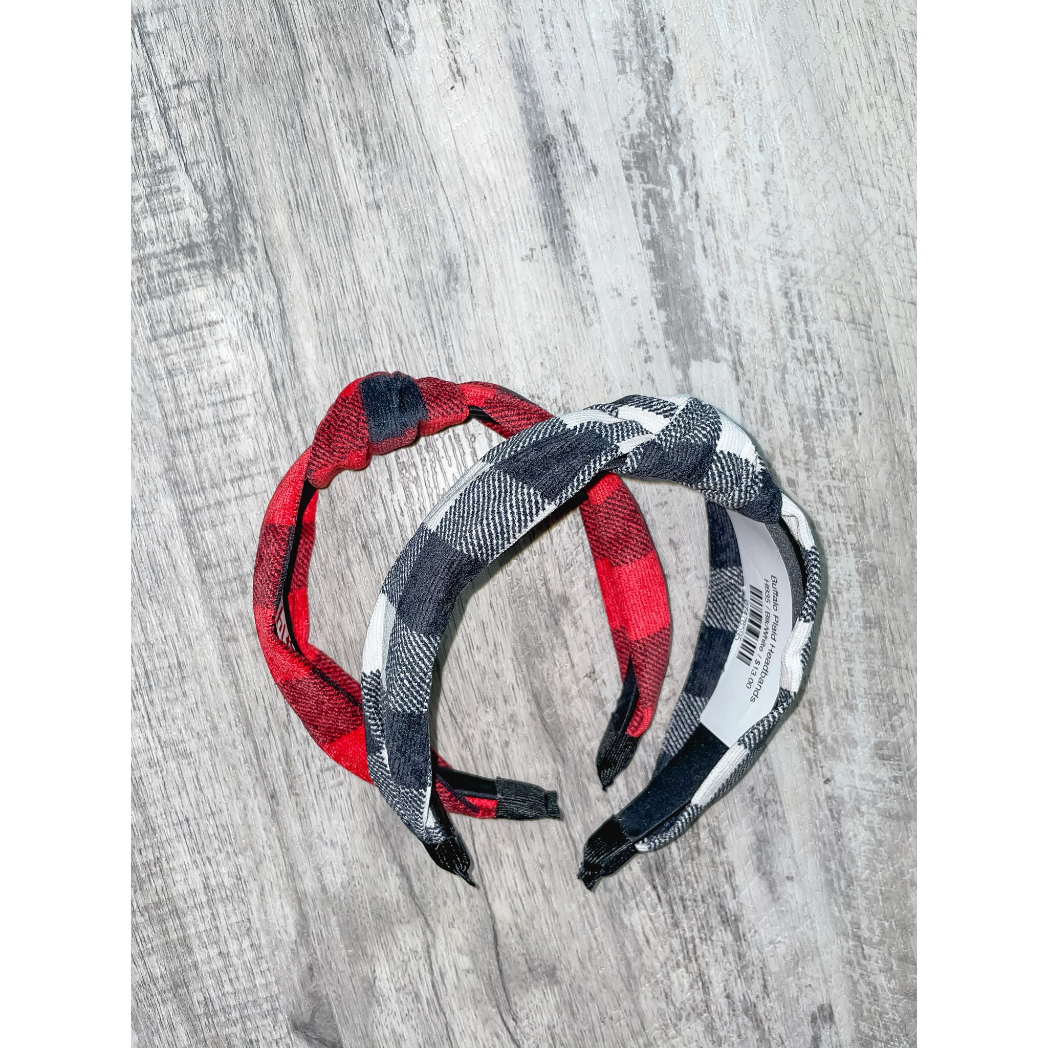 Buffalo Plaid Headbands