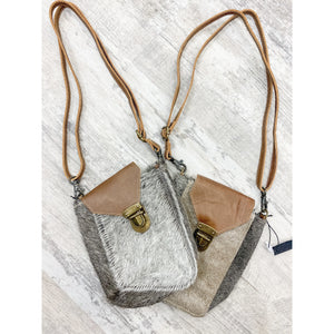 Cowhide Cell Phone Bag