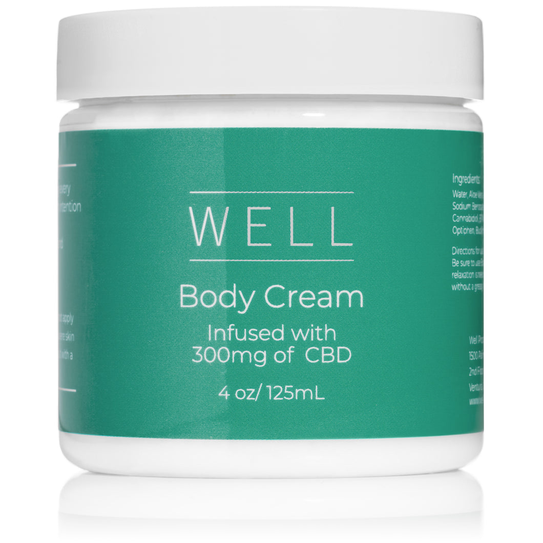 CBD Body Cream - 4oz (300mg)