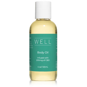 CBD Body Oil - 4 oz (200mg)