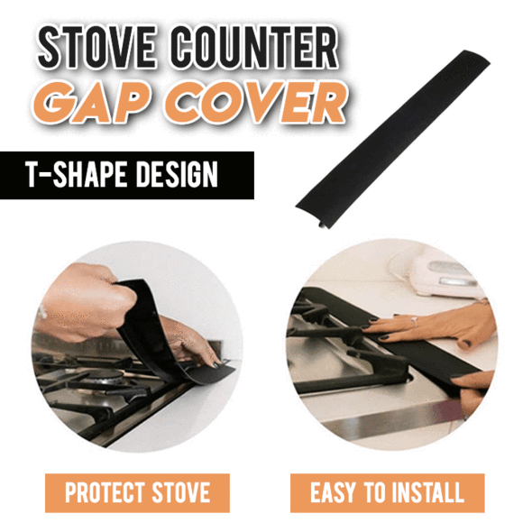 Silicone Stove Counter Gap Cover