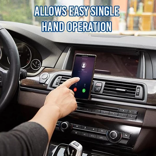Minimalist Magnetic Car Phone Holder