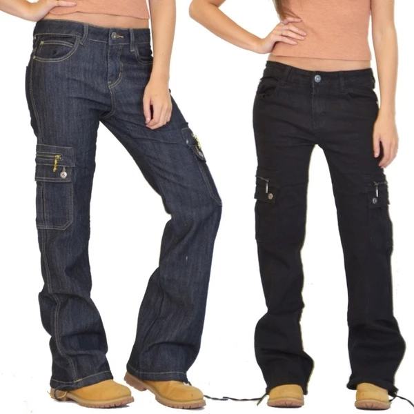 Loose Hiking Military Multi Pockets Casual Jeans(BUY 2 GET FREE SHIPPING)