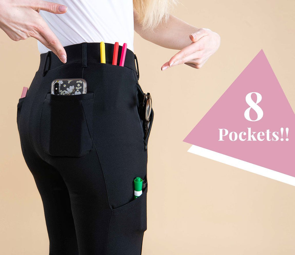 TODAY 50% OFF-Dress Pant Yoga Pants 8-Pocket(BUY 2 GET FREE SHIPPING)