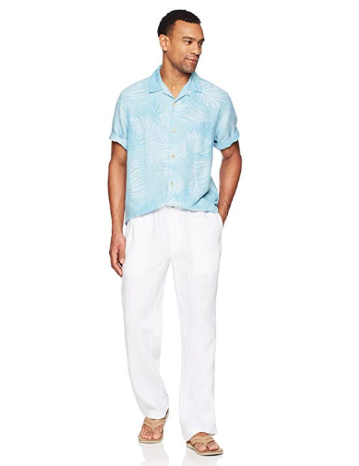 Men's Relaxed-Fit 100% Linen Pant with Drawstring(BUY 2 GET FREE SHIPPING)