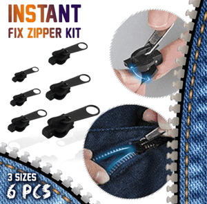 Instant Fix Zipper Kit (6 PCS)