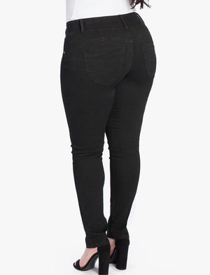 One Size Fits Always™ Denim 2-Pocket Slim Leg Jeans(BUY 2 GET FREE SHIPPING)