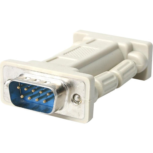 StarTech.com DB9 RS232 Serial Null Modem Adapter - M-F