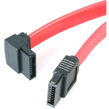 Load image into Gallery viewer, StarTech.com 18in SATA to Left Angle SATA Serial ATA Cable