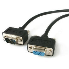 Load image into Gallery viewer, StarTech.com 15 ft Low Profile High Resolution Monitor VGA Extension Cable HD15 M-F