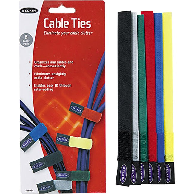 Belkin Cable Ties 8 Inch