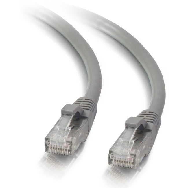 C2G 10ft Cat5e Snagless Unshielded (UTP) Network Patch Ethernet Cable-Gray