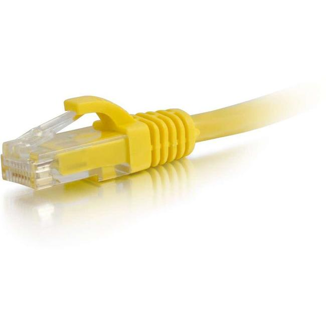 C2G-10ft Cat5e Snagless Unshielded (UTP) Network Patch Cable - Yellow