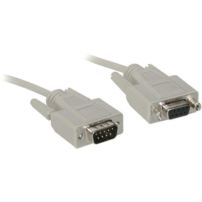 C2G 6ft DB9 M-F Extension Cable - Beige