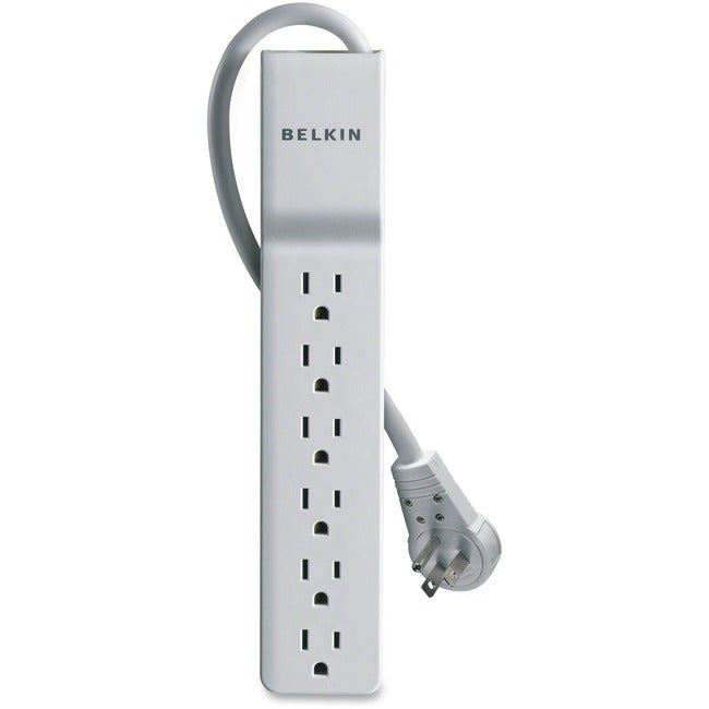 Belkin® Home-Office Series Surge Protector With 6 Outlets And Rotating Plug