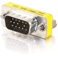 Load image into Gallery viewer, C2G HD15 VGA M-M Mini Gender Changer (Coupler)