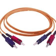 C2G-6m SC-SC 50-125 OM2 Duplex Multimode PVC Fiber Optic Cable - Orange