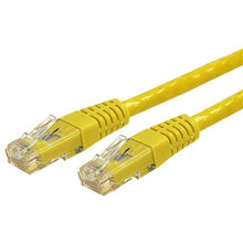 Load image into Gallery viewer, StarTech.com 15 ft Yellow Molded Cat6 UTP Patch Cable - ETL Verified