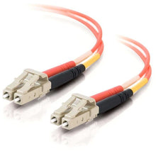 Load image into Gallery viewer, C2G-10m LC-LC 62.5-125 OM1 Duplex Multimode Fiber Optic Cable (Plenum-Rated) - Orange