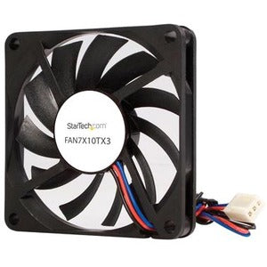 StarTech.com TX3 Dual Ball Bearing Replacement Fan - CPU Cooler fan - 70 mm - black