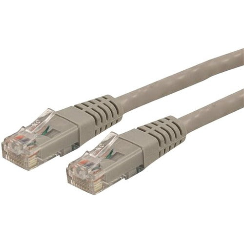 StarTech.com 15 ft Gray Molded Cat6 UTP Patch Cable - ETL Verified