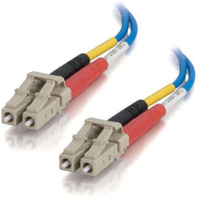 Load image into Gallery viewer, C2G-3m LC-LC 50-125 OM2 Duplex Multimode PVC Fiber Optic Cable - Blue