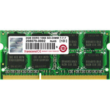 Load image into Gallery viewer, Transcend 2GB DDR3 SDRAM Memory Module