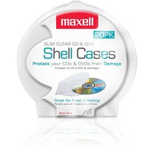 Load image into Gallery viewer, Maxell CD-356 Slim CD-DVD Jewel Case