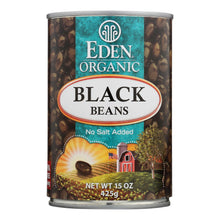 Load image into Gallery viewer, Eden Foods Organic Black Beans - Case Of 12 - 15 Oz.