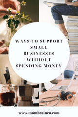 Support small businesses without spending any money