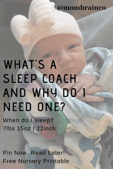 Why do I need a sleep consultant? What is a sleep consultant? How do I get my newborn to sleep?