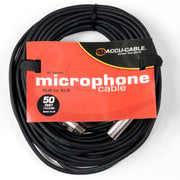 Accu-Cable XLR Microphone Cable 50 Feet