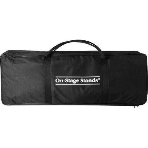 On-Stage-Stands MSB-6500 - Mic Stand Bag - holds 3 Round Base, 3 Hex Base Microphone Stands or Various Booms