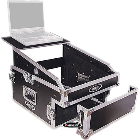 Odyssey FZGS1304 Flight Zone Glide Style Slanted 13+4 Space Combo Rack Case