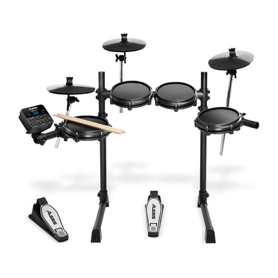 Alesis Turbo Mesh Kit 7-Piece Electronic Drum Kit with Mesh Heads