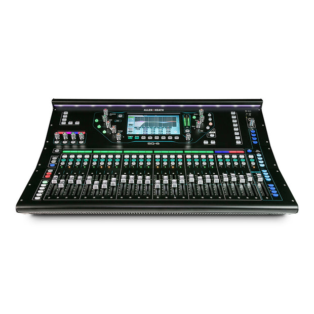 Allen & Heath SQ-6 - 48-Channel 24-Fader Digital Mixer