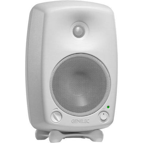 Genelec 8030CW - 8030C 5'' 2-Way 100W Active Studio Monitor (Single, White)