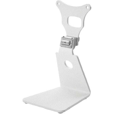 Genelec 8010-320W - L-Shape Table Stand for 6010 & 8010 Bi-Amplified Loudspeakers (White)
