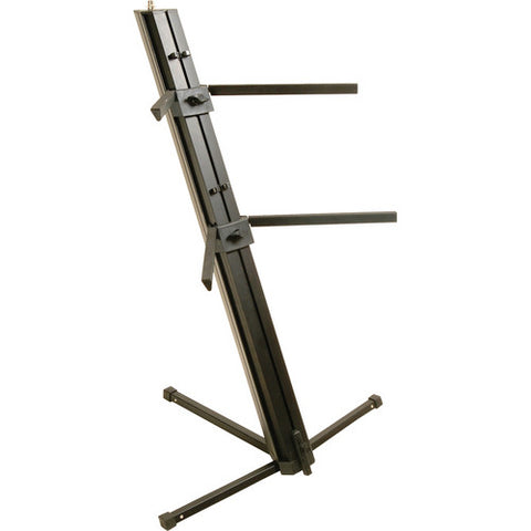 On-Stage-Stands KS9102 - Quantum Core Column Keyboard Stand (Black)