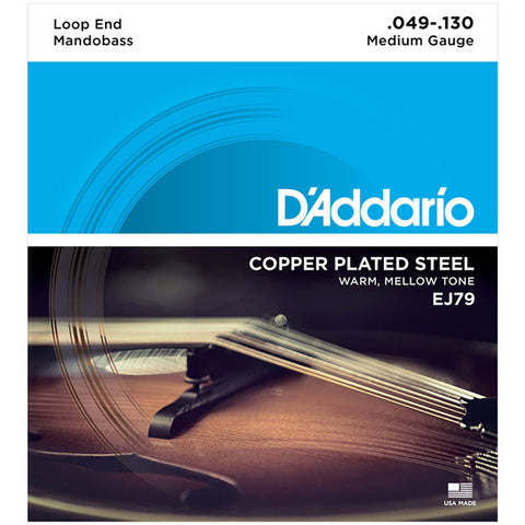D'Addario EJ79 - Set Mando Bass Copper Wound