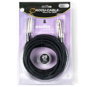 Accu-Cable XLR Microphone Cable 25 Feet