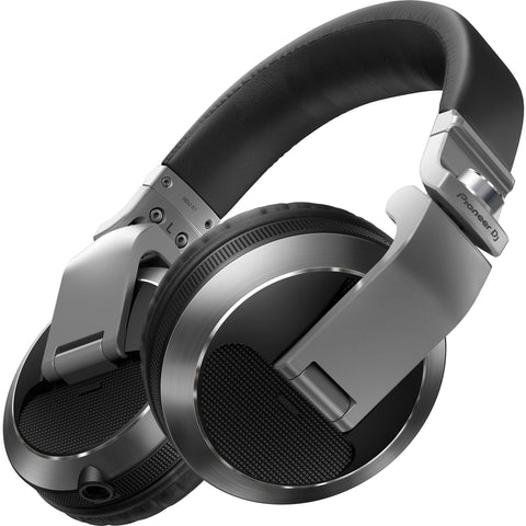 Pioneer HDJ-X7 Professional Over-Ear DJ Headphones - Silver