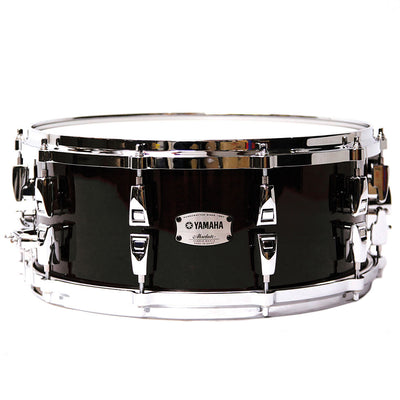 "Yamaha AMS1460 Snare Drum Absolute Hybrid Maple 14"" x 6"" - Solid Black"
