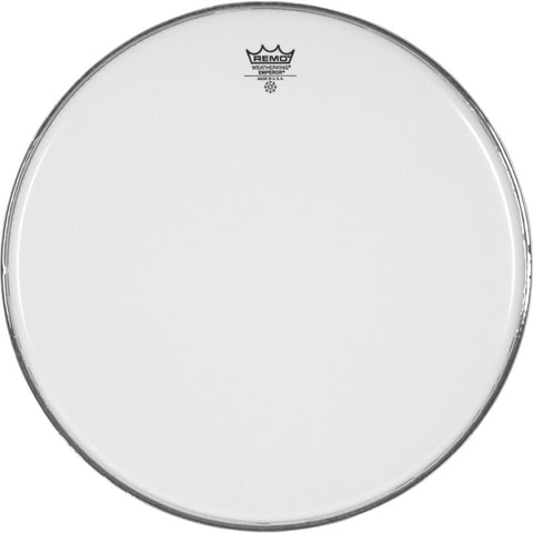 Remo BB-1224-00 - 24'' Smooth White Mperor Bass