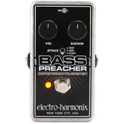 Electro-Harmonix BASS PREACHER Bass Compressor / Sustainer Pedal