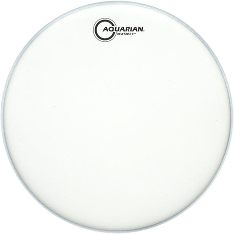 Aquarian TCRSP2-18 - 18'' TEX COATED RESPONSE 2     TWO PLY DRUMHEAD